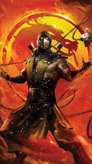 Mortal Kombat Legends Scorpions Mobile HD Wallpaper
