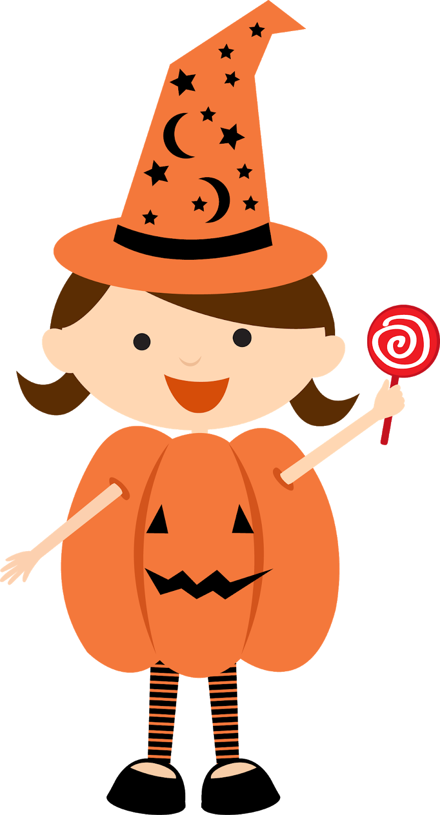 Children Dressed for Halloween Clipart. - Oh My Fiesta! in ...
