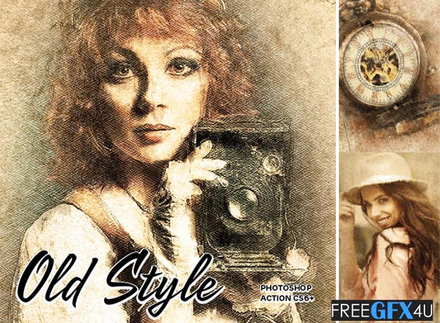 Old Style For Photoshop CS6+