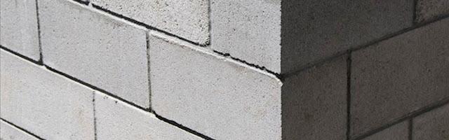 Pintar una pared de bloques de cemento