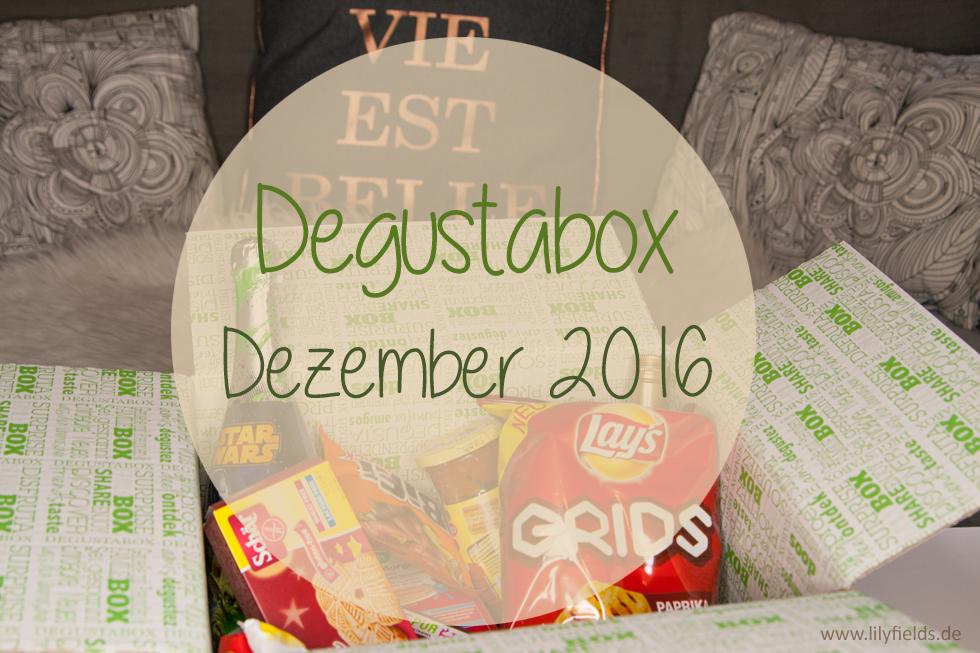Degustabox - Dezember 2016