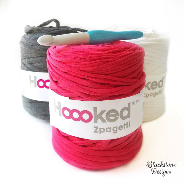 Yarn cones of Hoooked Zpagetti Yarn Review