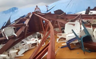 160 people dead as church collapses in Nigeria