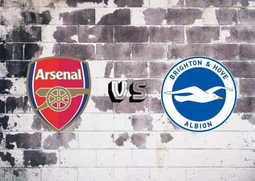Arsenal vs Brighton & Hove Albion  Resumen y Partido Completo