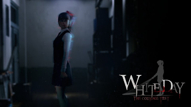 "Experience the cult horror game, ""White Day,"" through VR."