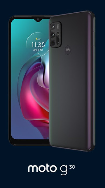 Moto G30 with 64MP quad-camera launching on 9th March