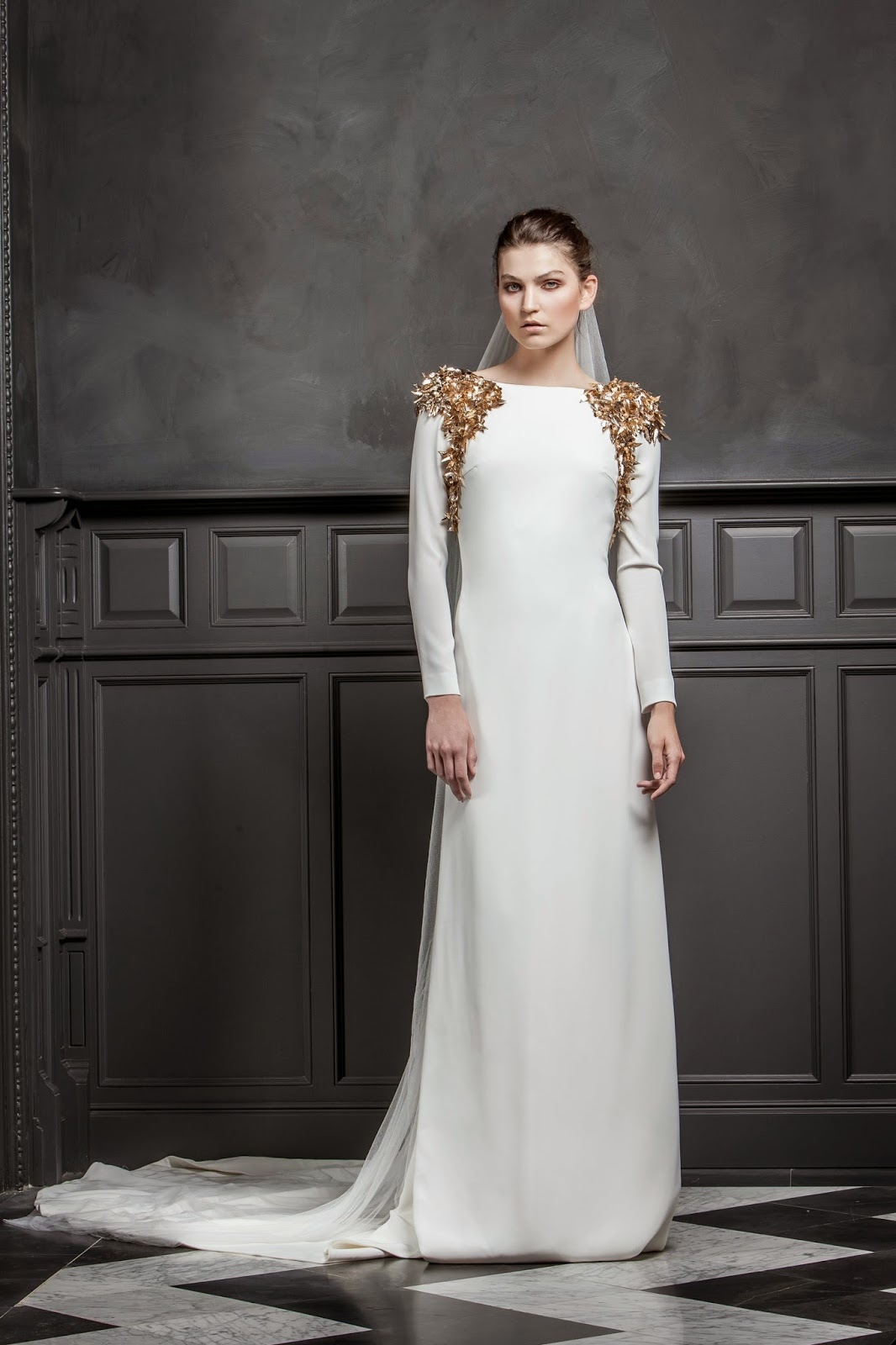 cruzar imagen orquesta  10 vestidos de novia sencillos, elegantes y sofisticados - Quiero una boda  perfecta - Blog de Bodas