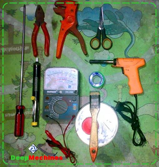 Peralatan Umum yang digunakan pada Perbaikan Perangkat Elektronik rumah tangga