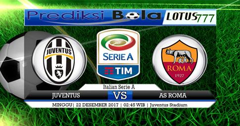 PREDIKSI  Juventus vs Roma  24 DESEMBER 2017