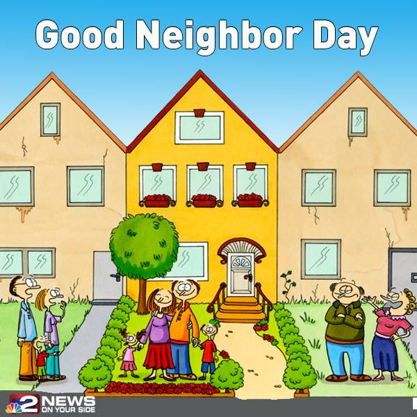 National Neighbor Day Wishes pics free download