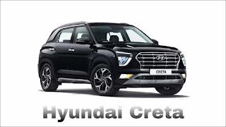 Top 7 Selling SUV in January in India (Hyundai Creta)