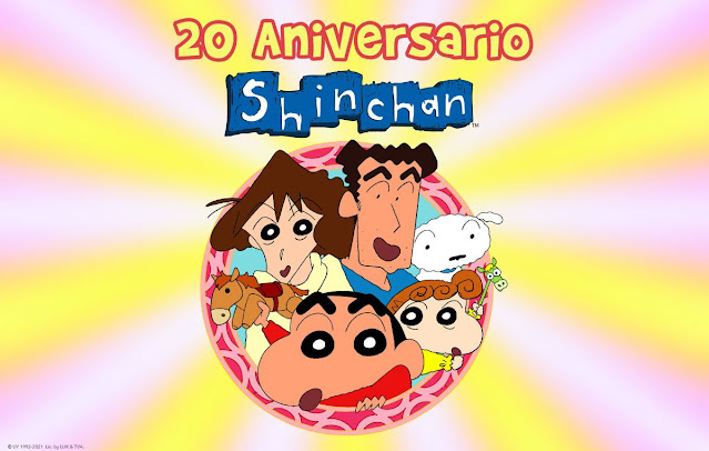 20 Aniversario de Shin chan en España 🎊