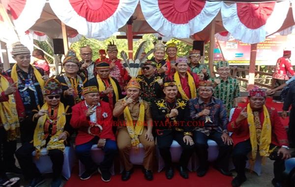 Gubernur Kalteng Hadiri 125 Tahun Perjanjian Damai Tumbang Anoi