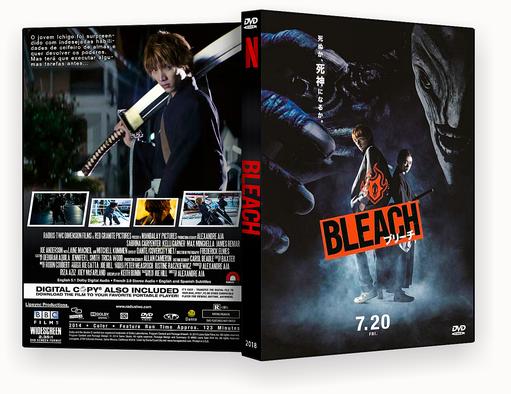 CAPA DVD – Bleach 2018 DVD-R AUTORADO