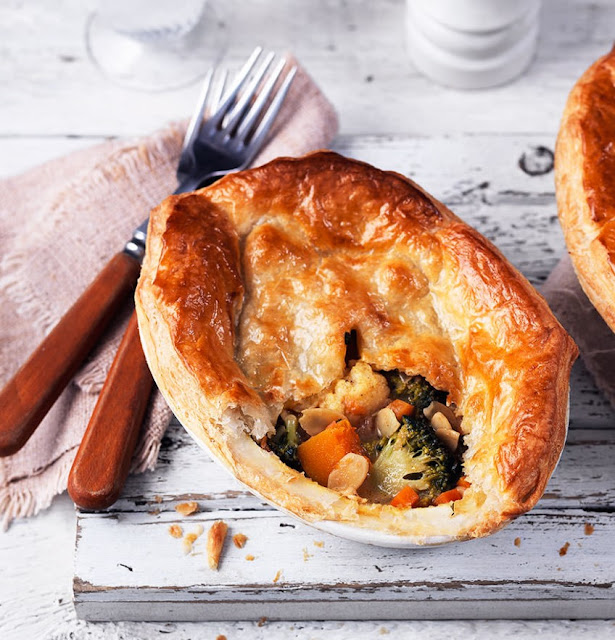 Vegetable Korma Pies Recipe