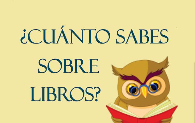¿Cuánto sabes sobre libros?