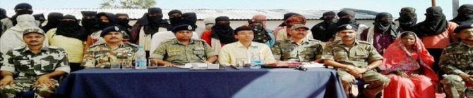 1,040 Militants of 5 Outfits Surrender In Assam