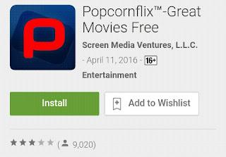 popcornflix aplikasi untuk nonton streaming film dan acara tv terbaik 2016