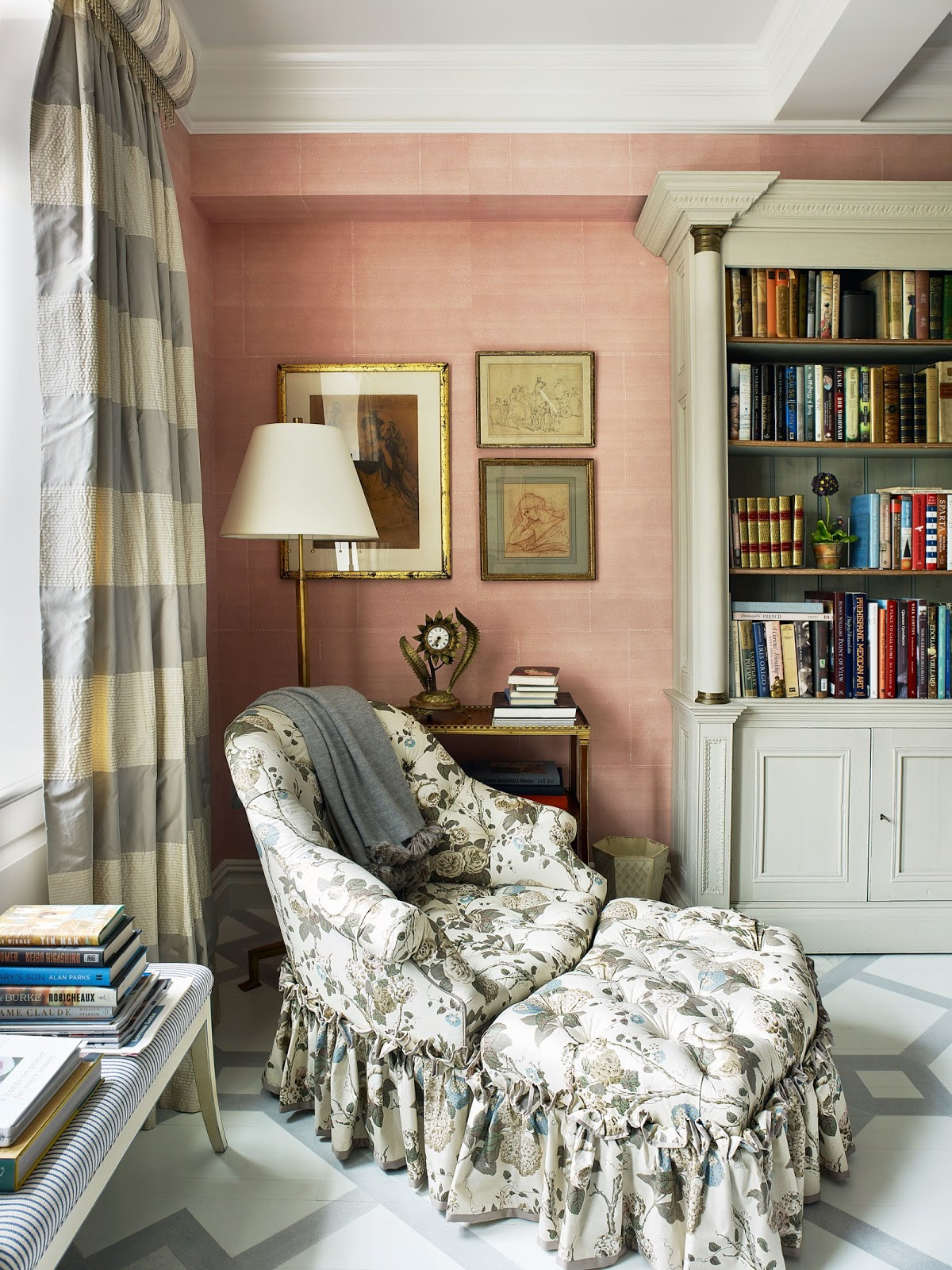 At Home With | Décor Inspiration: Bunny Williams' New Apartment, Manhattan
