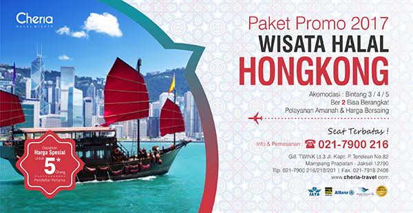 Paket Tour Hongkong Shenzhen Macau Muslim Friendly