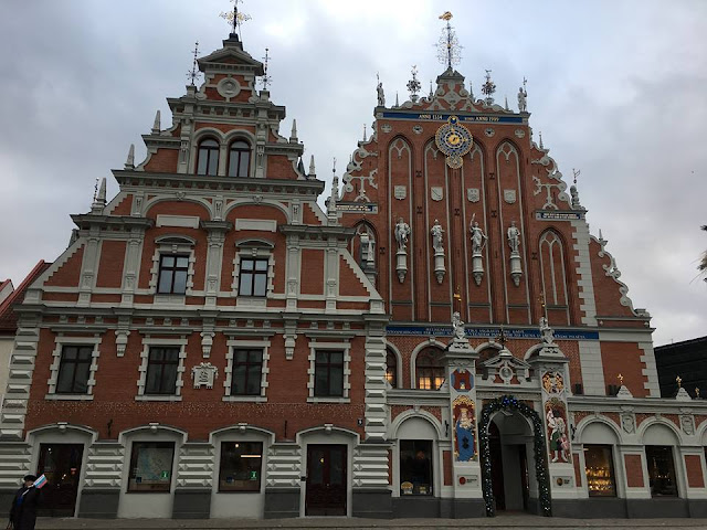 House of the Black Heads Riga Latvia