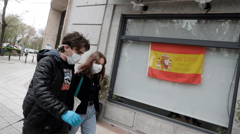 Coronavirus: España suma 288 muertos, una fuerte caída en la cifra diaria