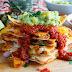 Quesadillas Al Pastor With Pineapple Salsa And Pineapple Guacamole Recipe