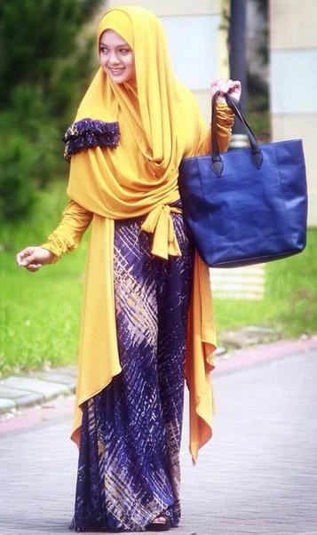 Model Baju Muslim Trendy Terbaru 2015