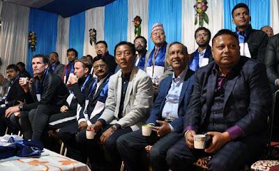 Binay Tamang, Anit Thapa, Gautam deb at GTA Chairman´s Gold Cup 2018 opening salugara