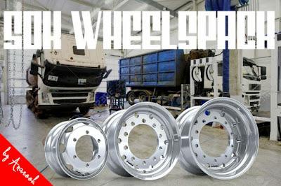 50k WheelsPack for ETS2 1.36.x