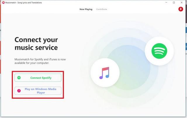Cara Menampilkan Lirik Musixmatch di Spotify PC