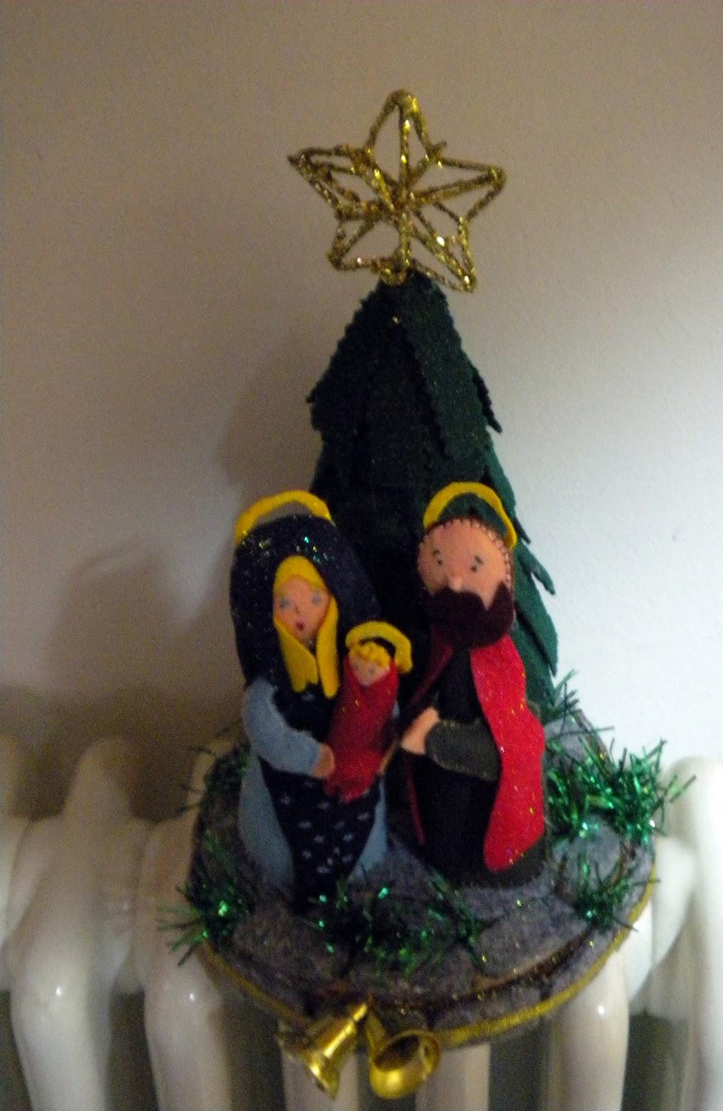 Favoloso La Bottega dei Capricci: La natività in pannolenci XP98
