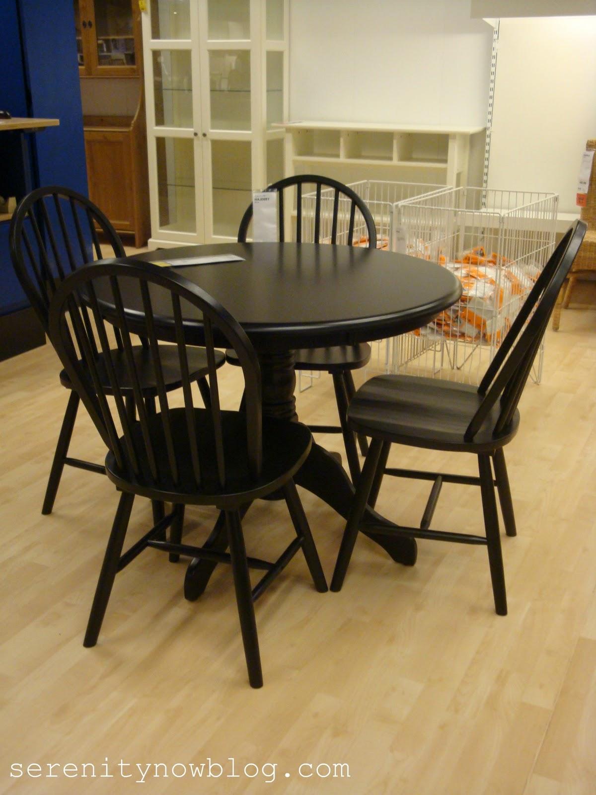 kitchen table sets near me black kitchen chairs TnXtBrveOvosIKEA black kitchen table Serenity Now blog R