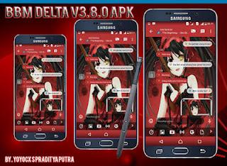 Download BBM Delta V3.8.0 Base V3.1.0.18 Apk