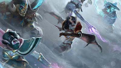 Gambar 7 Konsep Desain Hero Yang Selalu Ada Di Game MOBA