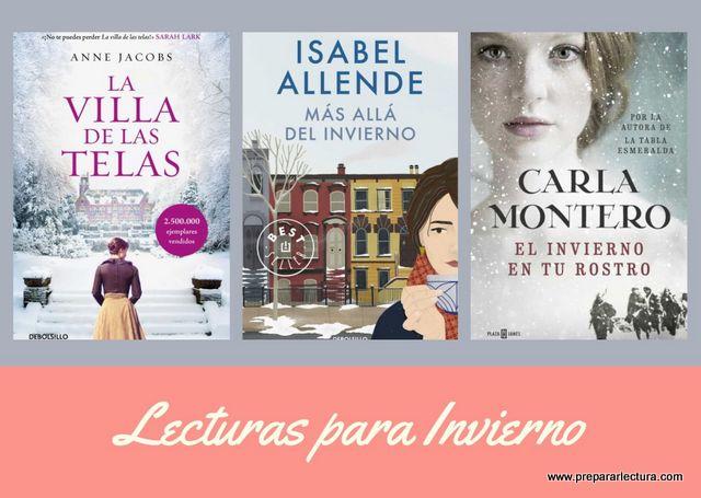 novelas bonitas para leer en invierno