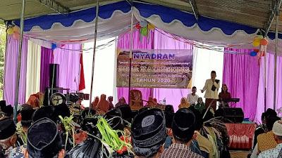 Desa Kalijering Nyadran Undang Kyai Kondang Dari Kebumen
