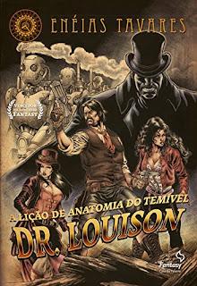 Capa do Livro A Lição de Anatomia do Temível Dr. Louison