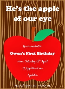 http://lovethatparty.bigcartel.com/product/apple-of-our-eye-printable-invitation-digital-file