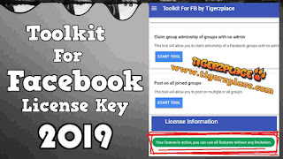 [Latest] -- Toolkit for Facebook License Key 2019