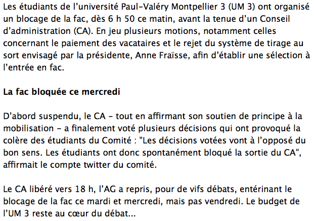 université montpellier paul valéry plan