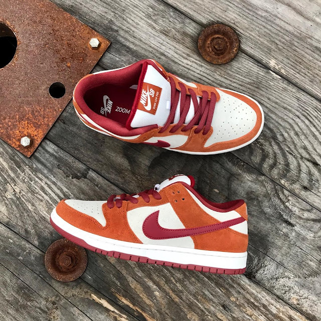 @nikesb Dunk Low Pro Dark Russet/ Cedar/Summit White