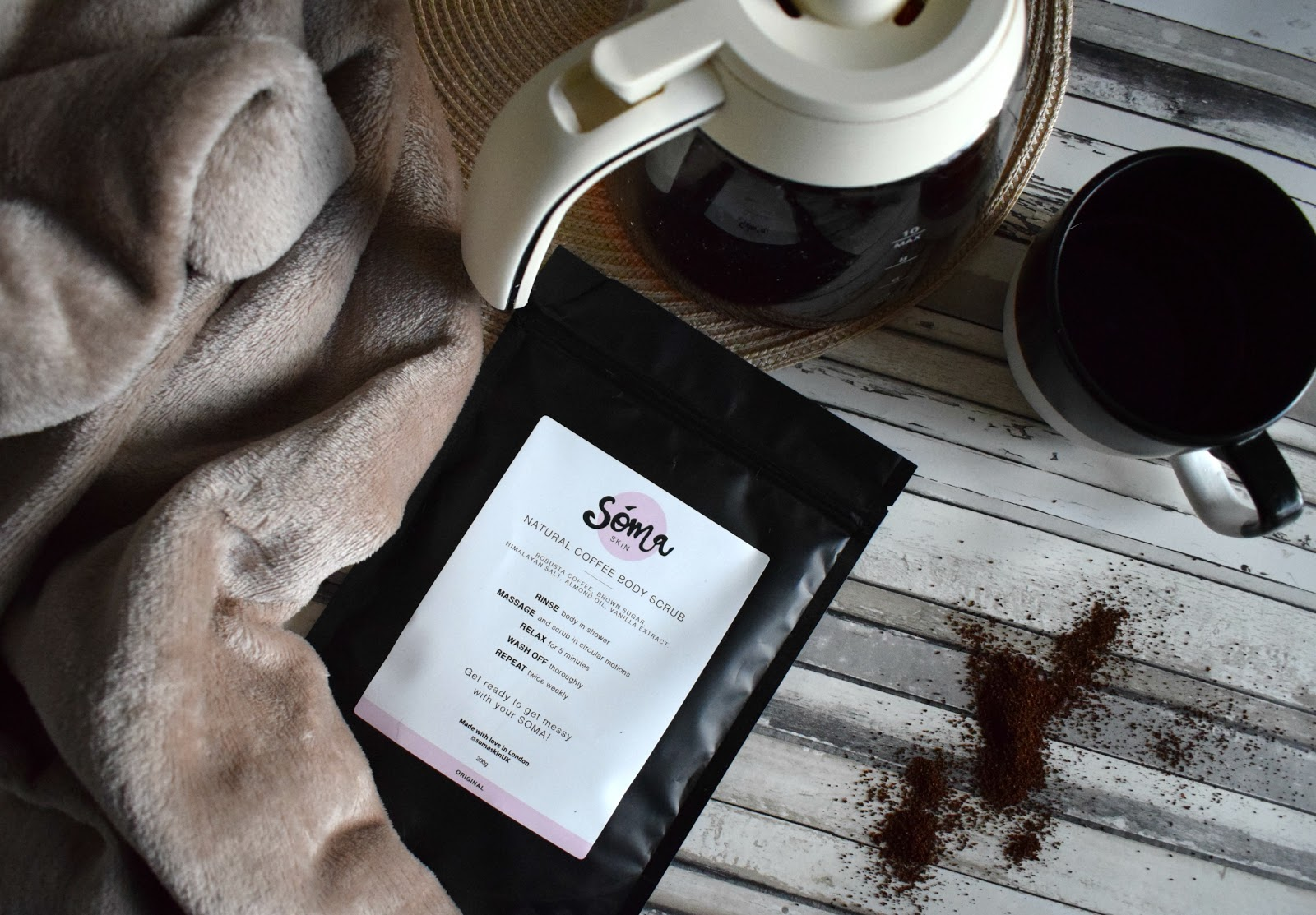 Soma coffee scrub review