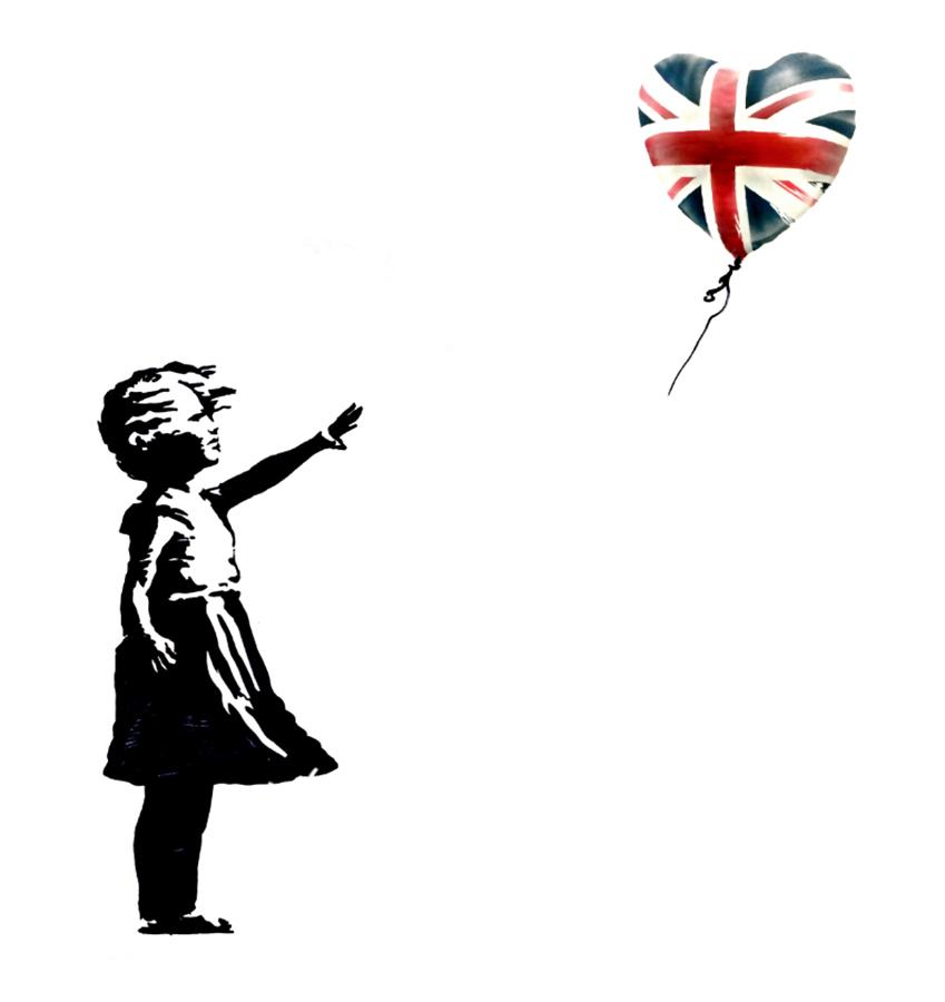 Banksy's FREE UK Election Souvenir Print Release