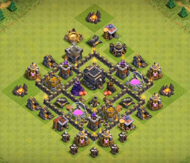 Base COC TH5 Trophy 3
