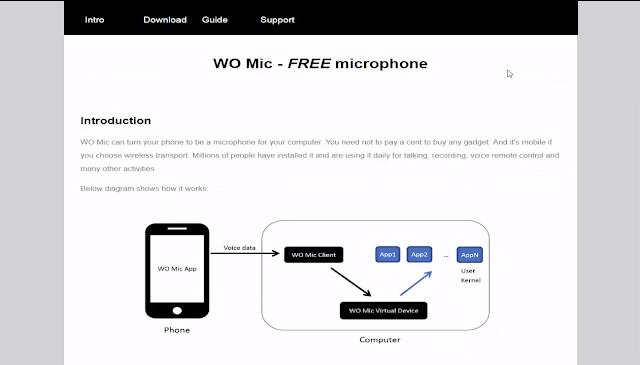 شرح كيف تجعل هاتفك مايك لتسجيل الصوت على الكمبيوتر عن طريق الواى فاى 1