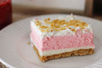 Two Creamy Desserts: Strawberry Cream Dessert / Chocolate Meringue Pie
