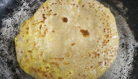Roasting paneer paratha recipe for kids