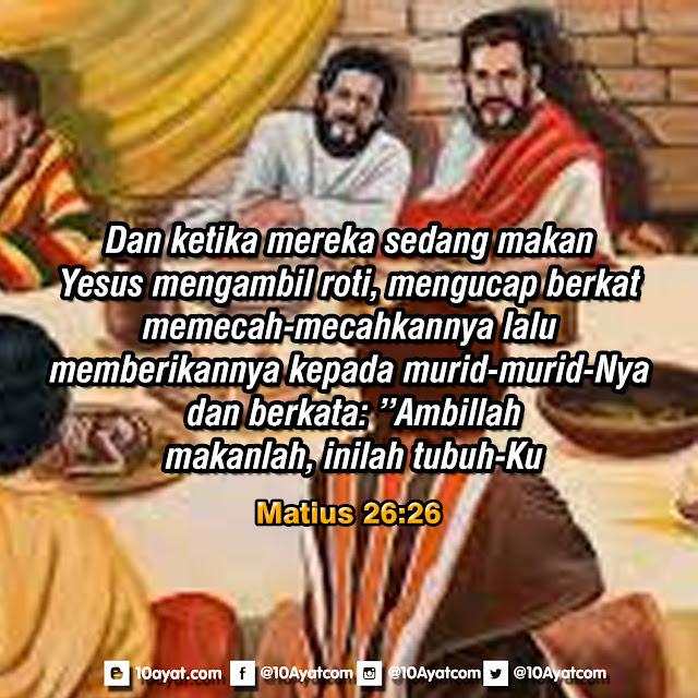 Matius 26:26