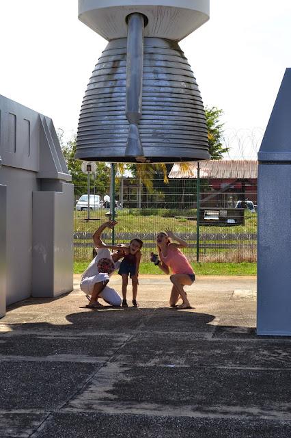 Guyane, Kourou,musée de l'espace, cnes